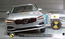 Euro NCAP: Volvo S90 och V90 får fem stjärnor och toppbetyg i säkerhet