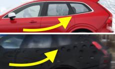 Spionfilm på maskerad Volvo – sannolikt nya XC60