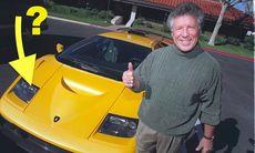Bevis: Lamborghini Diablo tog sina strålkastare från Nissan 300ZX
