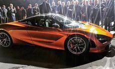 McLaren 720S – även känd som P14 – läcker ut på Instagram