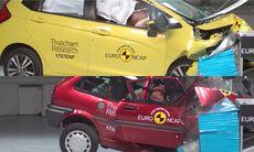Euro NCAP firar 20 år – visar skrämmande skillnad i krocksäkerhet