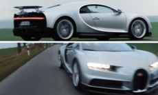 """The Grand Tour"" har lagt vantarna på Bugatti Chiron"
