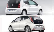 Kör du Toyota Aygo eller Volkswagen Up?