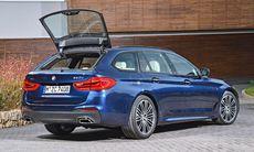 BMW 5-serie Touring – större, lättare, lastar mer och förbättrad – bilder och fakta