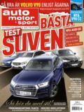 4/2017: Stort suvtest – Vi provkör Volvo V90 CC