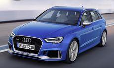 Audi RS 3 Sportback får ett ansiktslyft med 400 hk och 480 Nm i turbofemman