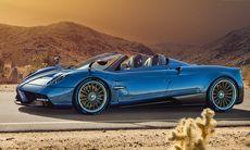 Pagani Huayra Roadster – lättare än Coupén och redan slutsåld