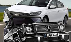 Hyundai Ioniq är grönaste bilen i ny undersökning – Mercedes G-klass smutsigast