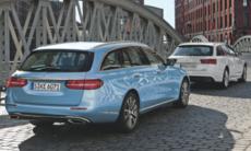 Utrymmesduell: Mercedes E-klass kombi mot Audi A6 Avant