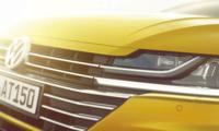 Bilder på Volkswagen Arteon – helt ny fyrdörrars coupé