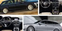 Begtest: Audi A4 mot Mercedes C-klass