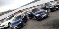 Test: Audi Q5 quattro, BMW X3 xDrive, Mercedes GLC 4Matic, Audi A4 Allroad