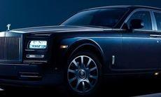 Rolls-Royce Phantom Celestial med stjärnhimmel