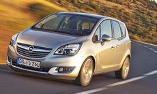 Opel Meriva får ett lyft – och snåldiesel