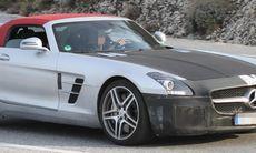 Spion: Sista rycket för Mercedes SLS AMG