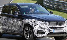 Spion: BMW X6 mot luftströmmen