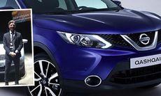 Nissan Qashqai blir större och snyggare