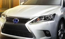 Lexus CT 200h får ett lyft med tuffare attityd