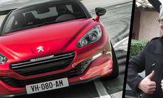 Peugeot RCZ R – vi provkör i Frankrike