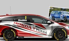 Honda kör BTCC med Civic Tourer