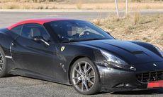 Spion: Ferrari California – först ut med turbomotor?