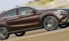 Mercedes GLA – officiella bilder och fakta