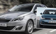 Peugeot 308 utmanar Golf med lägre pris