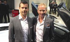 Autoropa säljer McLaren i klassiska Marmorhallarna