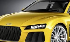 Audi Sport quattro concept – 700 hk och supersnål