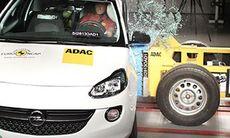 Euro NCAP: Bara fyra stjärnor för Opel Adam