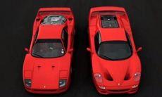 Film: Ferrari F40 mot F50 – en gång för alla
