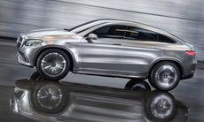 Mercedes Concept Coupé SUV officiell – visar kommande MLC