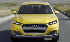 Officiell: Här är nya Audi TT Offroad Concept