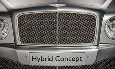 Bentley Mulsanne blir lyxmärkets första hybrid