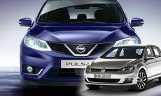 Helt nya Nissan Pulsar – med sikte på VW Golf
