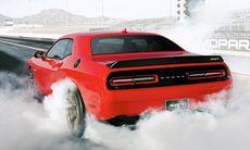 Dodge Challenger SRT Hemi Hellcat – med över 600 hk