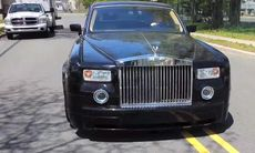 Världens mest sunkiga och misskötta Rolls-Royce Phantom