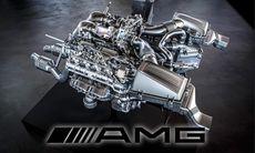 Mercedes lanserar ny V8-motor med dubbla turbo i AMG GT