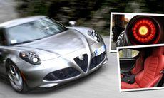 10 fakta som får dig att drömma om en Alfa Romeo 4C
