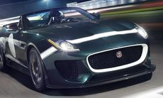 Jaguar Project 7 sätts i produktion – en F-Type som Speedster