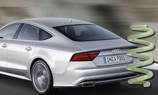 Audis smarta glasfiberfjädrar är 40 procent lättare