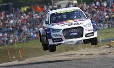 Mattias Ekströms första seger i Rallycross-VM