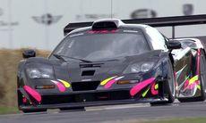 Kenny Bräck ger allt med McLaren F1 GTR Longtail