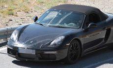 Spion: Porsche Boxster får ett lyft, men ingen turbomotor – ännu