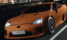 Lexus kan utveckla ny LFA