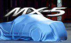 Under det här skynket döljer sig nya Mazda MX-5 Miata