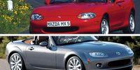 Begagnat: Två generationer Mazda MX-5 Miata
