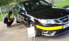 Här är Saabs första elbil