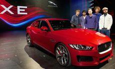 Jaguar XE-premiären som fick internet att koka över