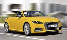 Nya Audi TT och TTS Roadster – alla bilder och fakta